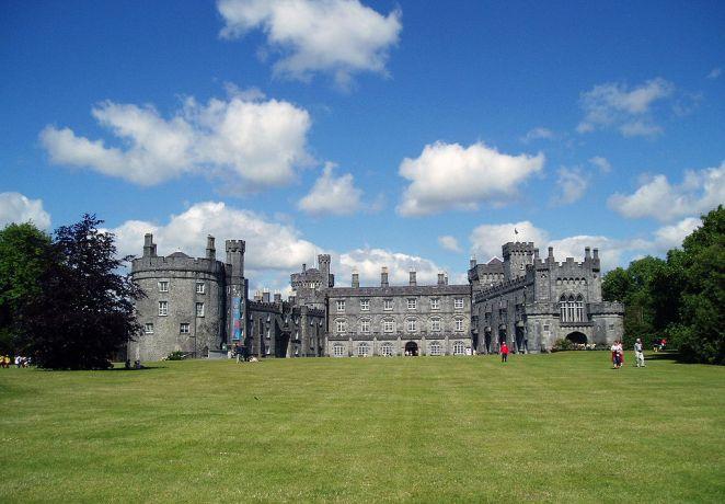 Kilkenny Castle, Ireland - built in the 12th century