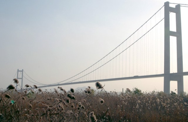 10 Longest Suspension Bridge Spans: Runyang Bridge, China
