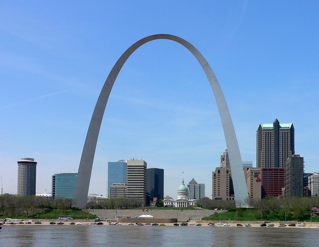 The Gateway Arch -  the world's tallest arch