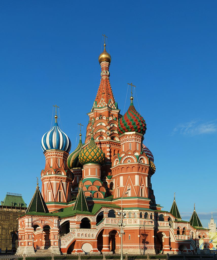 Most Famous Churches In The World: Saint Basil's Cathedral, Moscow