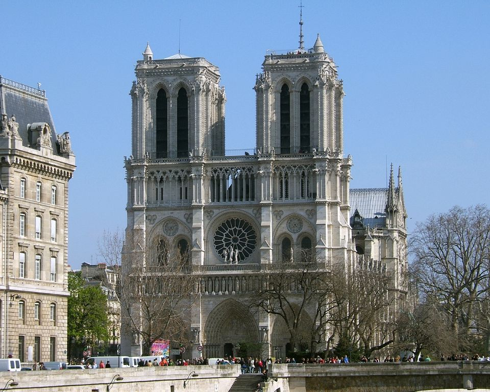 Most Famous Churches In The World: Notre Dame de Paris