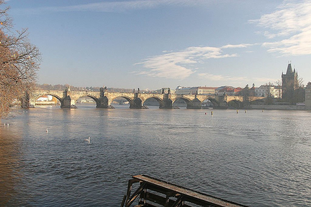 Most Famous Bridges In The World:  Charles Bridge, Prague, Czech Republic