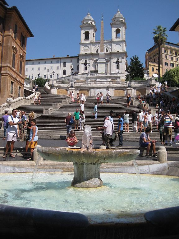Staircases Worth The Climb: The Spanish Steps, Rome
