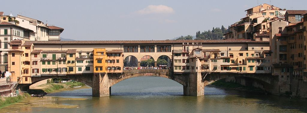Most Famous Bridges In The World: Ponte Vecchio, Florence, Italy