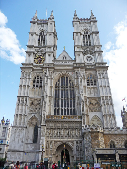 Most Famous Churches In The World: Westminster Abbey, London (source: wiki)