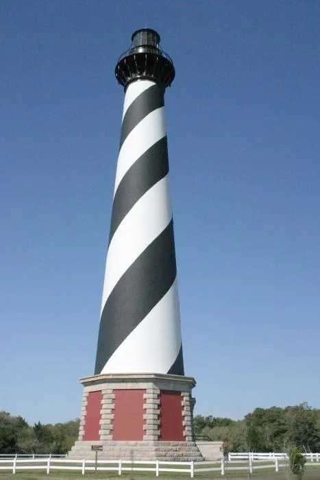 Most Famous Lighthouses In The World: Cape Hatteras Light, North Carolina