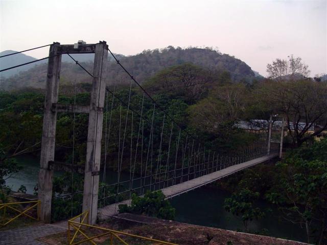 Scariest Rope Bridges In The World: Thenmala Hanging Bridge, India