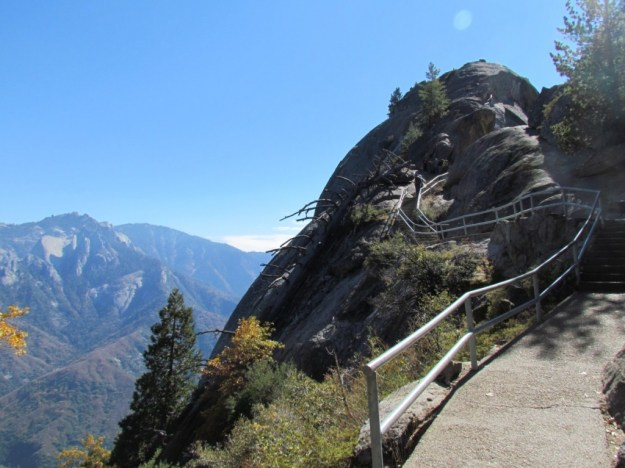 Staircases Worth The Climb: Moro Rock at Giant Sequoia National Park