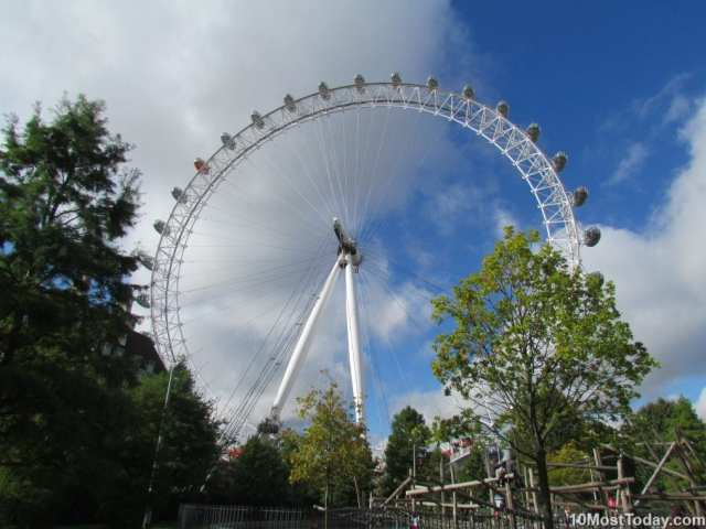 Most Awesome Ferris wheels: London Eye, England
