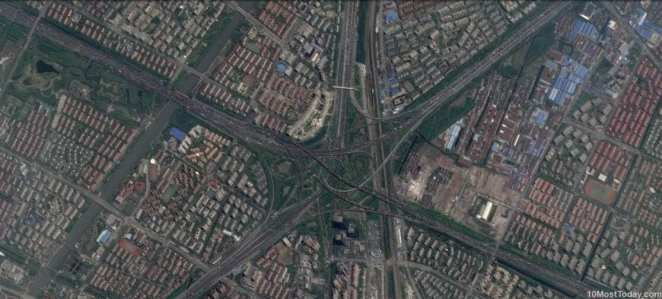 Mind Blowing Interchanges: Xinzhuang interchange, Shanghai