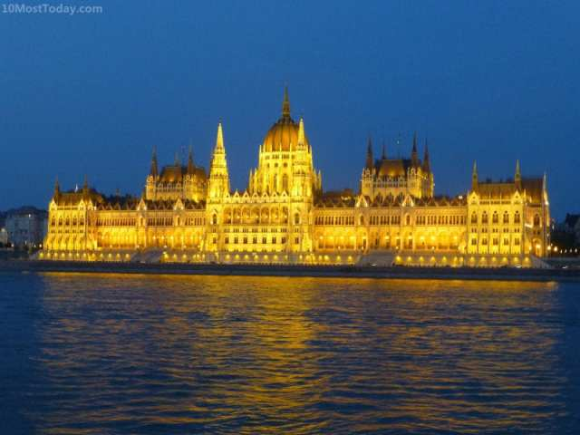 Most Beautiful Parliament Buildings: The Hungarian Parliament