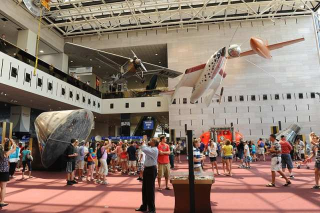 Best Science Museums: National Air and Space Museum, Washington D.C.