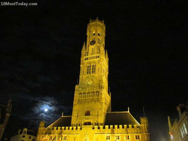 Amazing Bell Towers From Around The World: Belfry of Bruges, Belgium