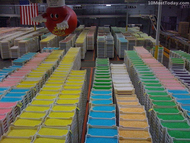 Jelly Belly Factory Tour, California
