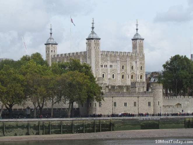 Historic Prisons From Around The World: Tower of London, England