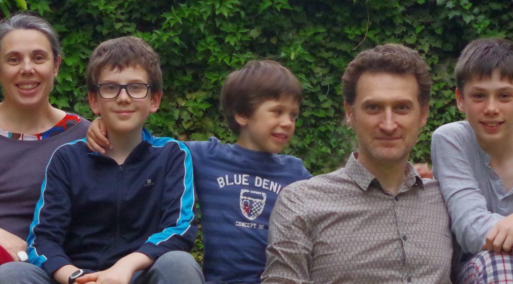 Notre famille en mai 2016
