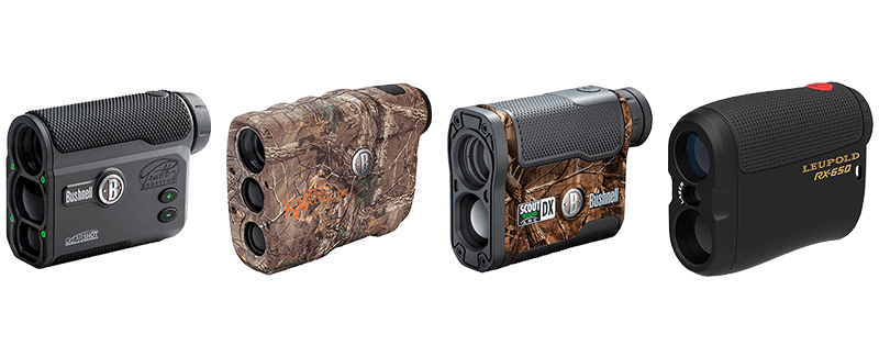 archery rangefinder with angle compensation