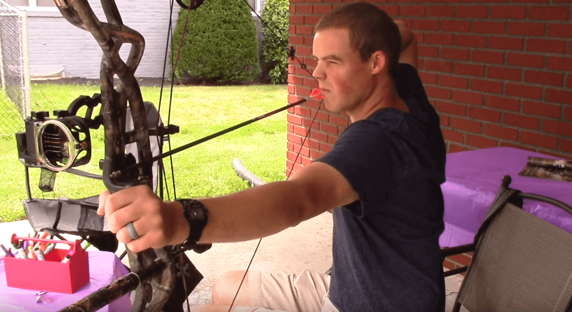 How to Sight in a Compound With Bow 3,4 & Pins