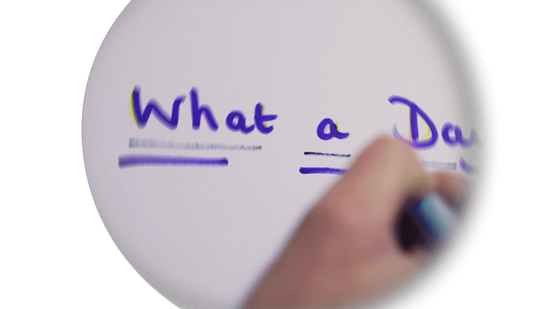 What A Day – Lyric Video