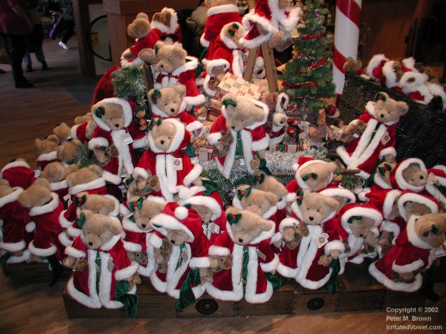 Iphone 3g Wallpaper Boyds Christmas Bears Pete Brown S 10rem Net