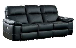 Homelegance Nicasio Contemporary All Genuine Leather Power Reclining Sofa review