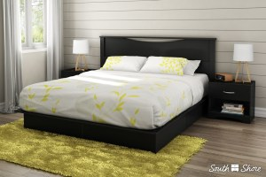 South Shore Step One Platform Bed with Drawers review