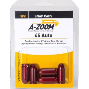 Snap Caps and Dummy Rounds