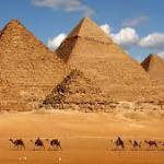 ピラミッドも三角