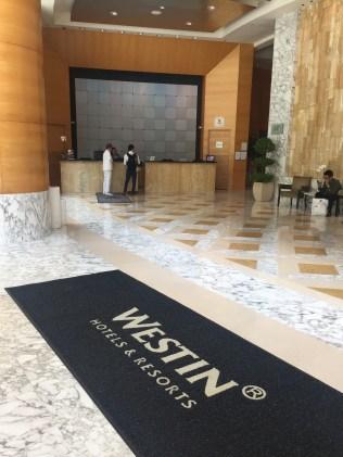 Westin Welcome