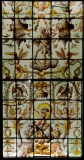 Stained glass panel from the Psyche Gallery at Ecouen