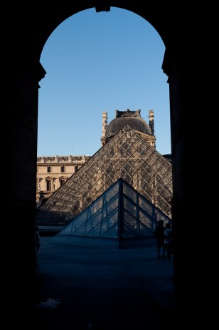 The Pyramid seen from Richelieu Passage