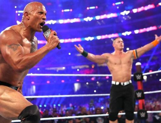 rock-and-john-cena-wrestlemania-32