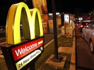 Pearly gates or golden arches? Same thing after the 12th vodka and cran to be honest.