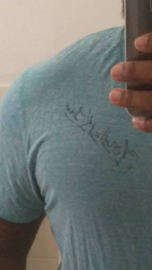 No she literally signed her name on my chest and I will never wash this shirt again because I sleep in it every night dreaming she was with me of reasons