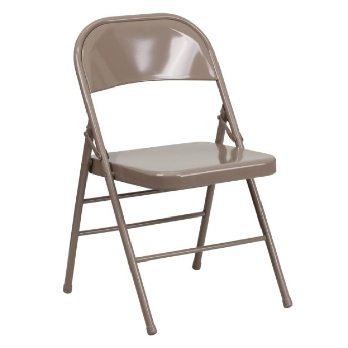 This chair can be found at weddings, funerals, receptions or the back of Wado head for tiefin