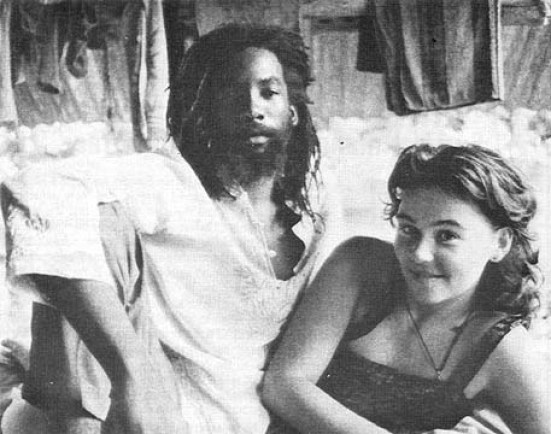 """""""Hey….Bob Marley said to chase the crazy baldheads out of town. Clearly my gf has long hair so….shut up"""""""
