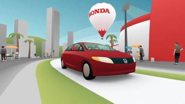 Animation, Modelling, Honda