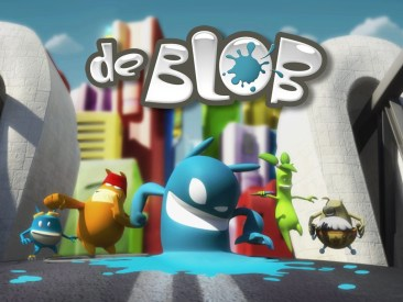 de blob, character animation