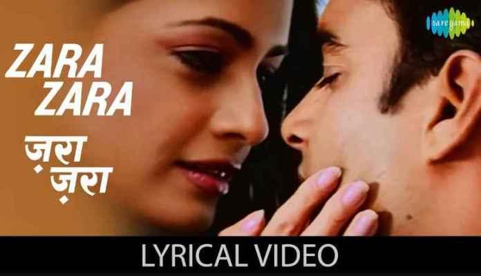 Zara Zara Behekta Hai Song Lyrics