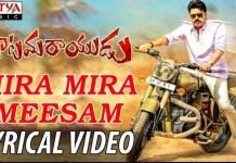 Mira Mira Meesam Song Lyrics
