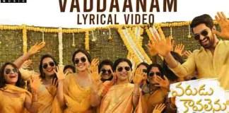 Vaddaanam Chuttesi Song Lyrics