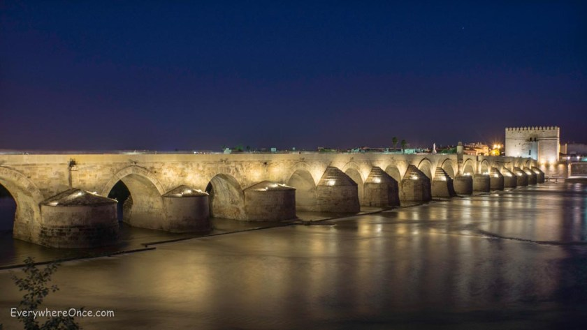 The Roman Bridge, Cordoba Spain