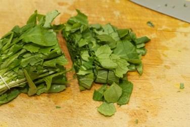 Gele curry met groene groente 27