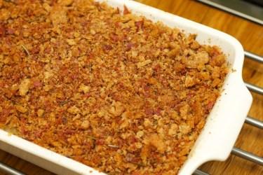 Macaroni met bloemkool en kaas schotel 32