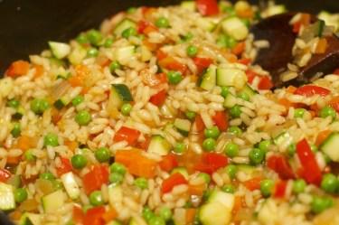 Risotto met Chipolata en veel groente 23