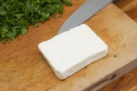 Spinazie risotto met asperges gewikkeld in Seranoham 36