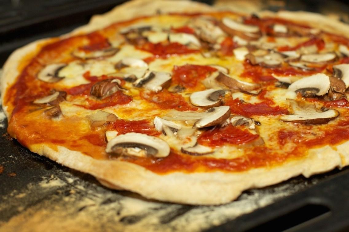 Pizza Funghi 4