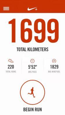 Nike Running app 2