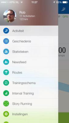 Runtastic Pro app 4
