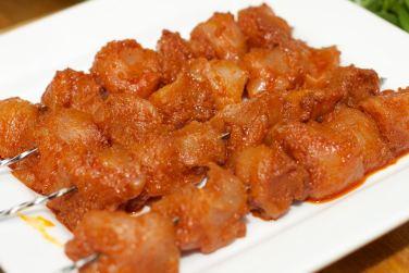 Broodje Thaise kip en gegrilde groente 19